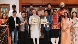 पीएम मोदी से मिली 'तारक मेहता का उल्टा चश्मा' की पूरी टीम, चर्चा में फोटो