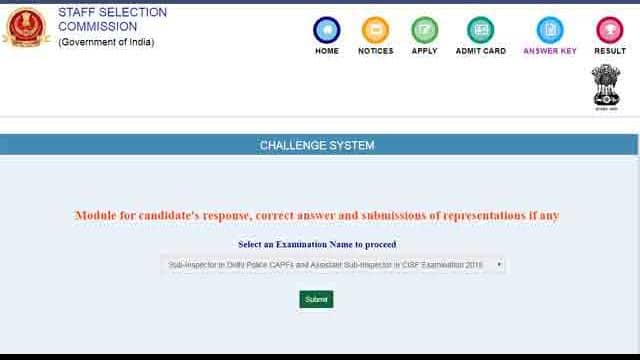 ssc  ssc nic in  ssc si result  ssc capf result  ssc assistant sub inspectors result ssc si  ais res