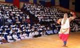 टीएमयू में स्पिक मैके में शास्त्रीय नृत्य