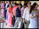 dlf phase 3 in gurugram witnessed the lowest voter turnout in haryana assembly election  ht photo