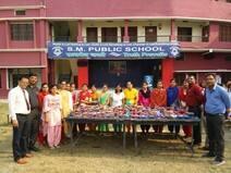 दीया सजाओ प्रतियोगिता में बच्चों ने हुनर दिखाया