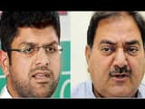 dushyant chautala and abhay singh chautala  left to right  ht file
