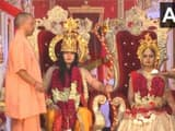 ayodhya deepotsava celebrations up cm yogi adityanath and governor anandiben patel participate
