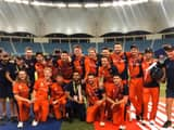 netherlands after winning the t20 world cup qualifying tournament   kncbcricket