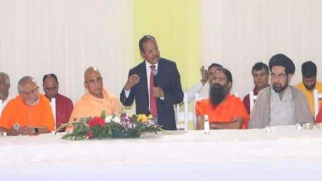 after ayodhya verdict national security advisor ajit doval met inter religious leaders