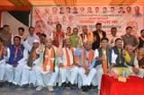 शहरी विकास मंत्री ने भाजपा चुनाव कार्यालय का उदघाटन किया