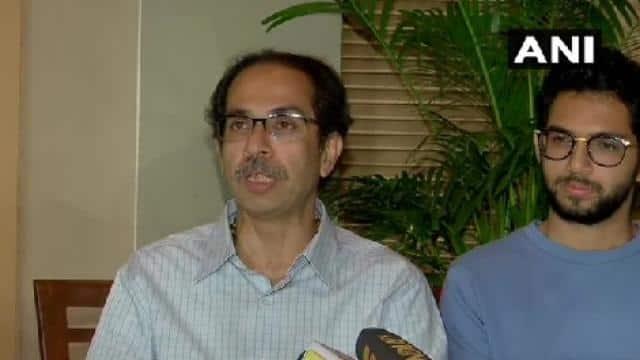 uddhav thackeray press conference in mumbai   ani twitter 12 nov  2019