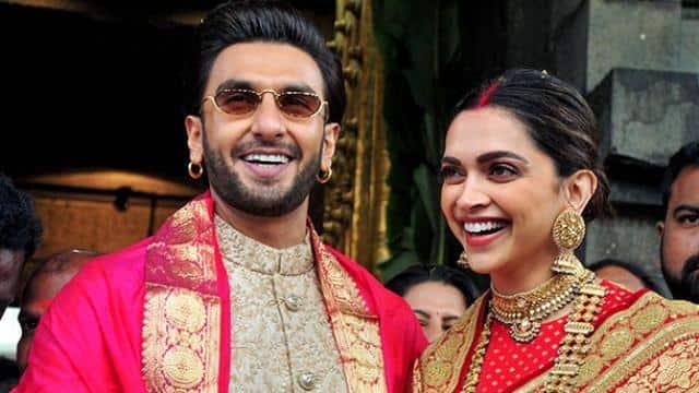 Image result for रणवीर दीपिका शादी का पहली एनिवर्सरी