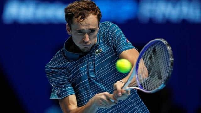 tennis  spain rafael nadal beat russia daniil medvedev