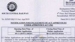 rrb  southern railway apprenticeship