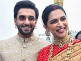 deepika padukone and ranveer singh look like newlyweds as they visit tirupati on wedding anniversary