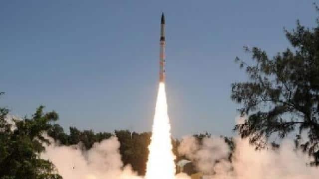 agni 2 ballistic missile