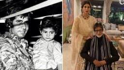 अमिताभ बच्चन ने शेयर की अभिषेक और श्वेता बच्चन की पुरानी तस्वीर, सोशल मीडिया पर वायरल!