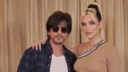 शाहरुख खान ने की सिंगर दुआ लीपा से मुलाकात, सोशल मीडिया पर शेयर की फोटो