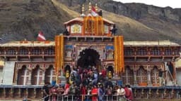 badri vishal dham doors closed for winters
