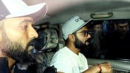 INDvBAN Day-Night Test: कप्तान विराट कोहली और उप-कप्तान अजिंक्य रहाणे साथ पहुंचे कोलकाता