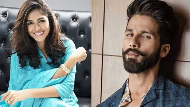 Mrunal Thakur to star opposite Shahid Kapoor in 'Jersey'