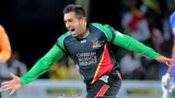 तबरेज शम्सी ने विकेट लेने के बाद दिखाया मैजिक, रूमाल को बनाया छड़ी
