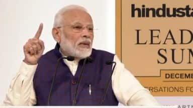 htls 2019  prime minister of india narendra modi in hindustan times leadership summit 2019