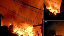 दिल्ली के रानी झांसी रोड की अनाज मंडी में लगी भीषण आग, ये हैं अब तक की आग की सबसे बड़ी घटनाएं