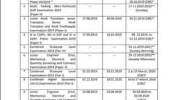 SSCexam Calendar 2020-21: एसएससी ने जारी किया 2020 परीक्षा का कैलेंडर, यहां देखें तारीखें