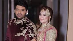 kapil sharma and his wife ginni chatrath
