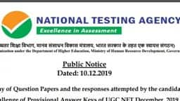 UGC NET 2019: आंसर की जारी हुई, पढ़ें यूजीसी NTA नोटिस के 3 Imp प्वाइंट्स