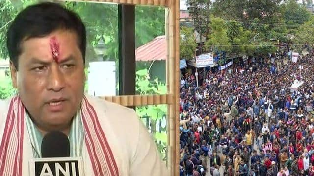 chief minister of assam sarbananda sonowal  ani twitter pic