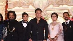 सलमान खान पहुंचे मेकअप आर्टिस्ट के बेटे की शादी में, फोटो सोशल मीडिया पर वायरल