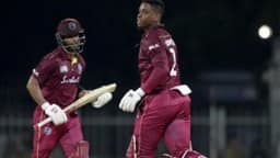 shimron hetmyer and shai hope  ap
