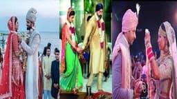 Goodbye 2019: बॉलीवुड की इन बड़ी शादियों ने इस साल बटोरी सुर्खियां, पूजा बत्रा, नीति मोहन-नुसरत जहां लेकर मोहिना कुमारी ने लिए सात फेरे