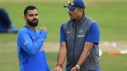 virat kohli with ravi shastri photo ht