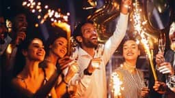 happy new year party 2020