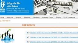 ibps rrb results 2019  ibps office assistant officer scale crp vii exams declared