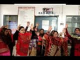 opd stalled and protest by female health workers due to allegation of molesting on health officer in