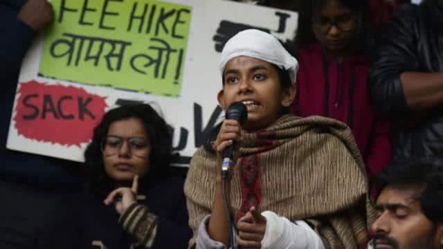 JNU हिंसा में घायल हुई छात्र नेता आइशी घोष के खिलाफ FIR दर्ज, ये है मामला