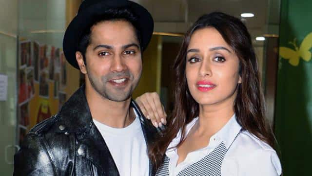 varun dhawan and shraddha kapoor during the promotion of their upcoming movie street dancer 3d