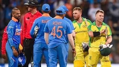 india vs australia 1st odi  warner-finch star as india suffer worst-ever defeat against australia