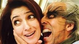 अक्षय कुमार ने ट्विंकल खन्ना को इस 'डरावनी' फोटो के साथ विश की 19वीं वेडिंग एनिवर्सरी