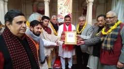 धार्मिक अनुष्ठानों के साथ ठा. प्रियाबल्लभ का पाटोत्सव शुरू