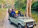 बारिश के चलते किशनपुर में बंद रही जंगल सफारी