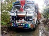 पेड़ में करंट उतरने से ट्रक हेल्पर की मौत
