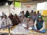 अमरोहा में 61 वें दिन भी जारी रहा किसानों का धरना