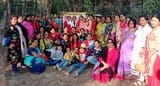 वीरांगना के वनभोज में बेटियों को सम्मान