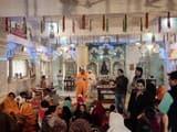 जैन समाज ने धूमधाम से मनाया मंदिर का वार्षिकोत्सव