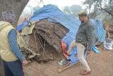 निवाड़ा पुलिस चेक पोस्ट के पास वाहनों से अवैध वसूली का भंडाफोड़