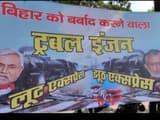 poster war in bihar rjd poster against bjp and jdu