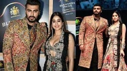 arjun kapoor and janhvi kapoor walked the ramp