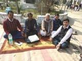 वेतन विसंगतियों के विरोध में शिक्षकों ने दिया धरना