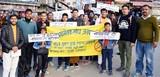 नैनीताल में आरएसएस ने नशे के खिलाफ रैली निकाली